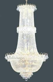 french empire crystal chandelier chandeliers lighting regarding gallery 9 light gold crysta