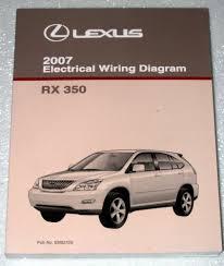 lexus rx electrical wiring diagram gsu gsu series 2007 lexus rx350 electrical wiring diagram gsu30 gsu35 series toyota motor corporation com books