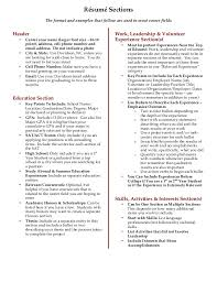 Resume Sections Fascinating Davidson College Résumé Writing Guide