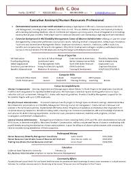Sample Hr Generalist Resume Executive Human Resources Resume Samples Best Sample Sample Hr 27