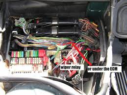 location all fuses bmw forums click image for larger version wiper relay in the e38 module box jpg