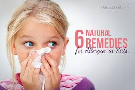 6 Natural Remedies For Allergies In Kids - Holistic Squid