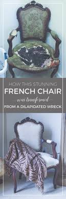 Transforming A Vintage French Chair French