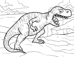 Small Picture Tyrannosaurus Rex Coloring Pages Dinosaur Coloring Pages for Kids
