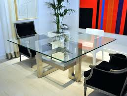 dining room square glass dining room table shimmering tables home design lover 1 top sets world