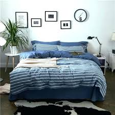 blue and white striped bedding striped navy blue and white striped crib bedding