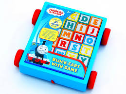 thomas friends block cart with game