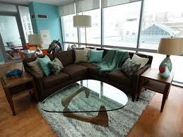 Brown And Turquoise Living Room Magnificent Living Room Turquoise Living Room Decor Brown And Ideas With 48