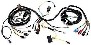 mustang head light wiring harness with tach gt 1967 alloy metal