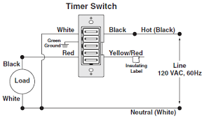 wiring a timer switch no neutral wire mydome timer switch wiring