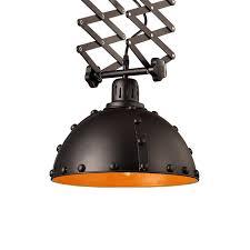 european style black adjustable retractable ceiling lamp retro loft iron restaurant bedroom coffee shop light fixture t71