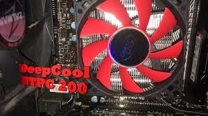<b>DeepCool HTPC 200</b> CPU - i5 6500 - YouTube