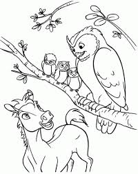Small Picture Coloring Page Spirit coloring pages 3