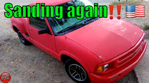 1997 Chevy s10 SS More Sanding 🏁 - YouTube