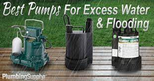 best pumps for excess water flooding
