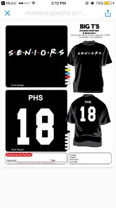 Senior Shirt Designs 2017