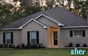Small Picture Delighful Exterior Paint Colors Brick Painted Exteriors Ideas On