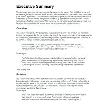 Executive Summary Template Format What Is Powerpoint Sample