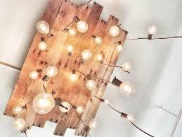 reclaimed wood ceiling lamp