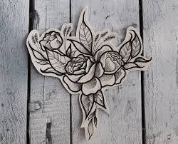 сделать татуировку пионы в городе санкт петербург по эскизу мастера