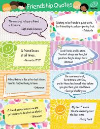 Favorite Friendship Quotes For Kids Printable Best Download Quotes About A Good Friendship