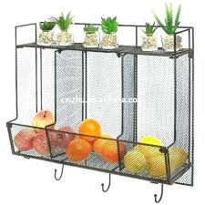 wall mounted baskets fruit storage baskets fruit storage basket fruit basket storage wall mounted wire baskets