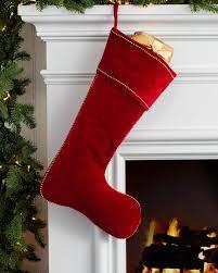 Studded Velvet Stocking Main