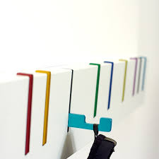 The hooks pull out to help you organize your stuff. During the coatless  summer months