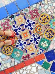 Colorful Floor Tiles Design Tile Interior Mexican Pattern In Impressive