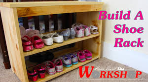 How To Make A Shoe Rack How To Build A Shoe Rack Youtube