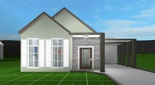 bloxburg house ideas 1 story aesthetic