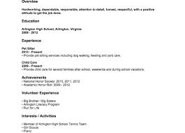 High School Student Internship Cover Letter Sample For Summer Job