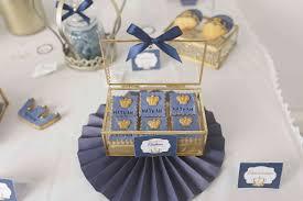 royal thème princier bleu marine