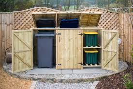 recycling bin storage. Modren Bin 2 Wheelie Bin U0026 Recycle Box Store To Recycling Storage