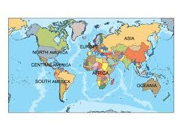 Powerpoint World World Powerpoint Map