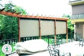 s cusmize freestanding outdoor privacy screen patio