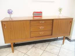 Schreiber Bedroom Furniture Vintage 70s Schreiber Teak Veneer Sideboard Unit Mid Century
