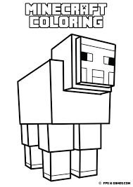 Minecraft Coloring Pages Coloring Pages For Coloring Book Printable