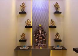 Small Picture 63 best Pooja Cabinet images on Pinterest Puja room Prayer room