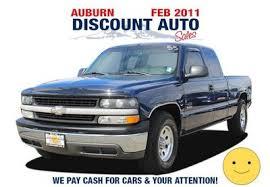 Used 2001 Chevrolet Silverado 1500 Extended Cab Pickup in Auburn ...