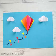 15 Easy Kite Craft Ideas For Kids Artsy Craftsy Mom