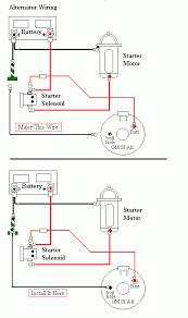 jeep alternator wiring diagram Gm Alternator Schematic new alternator and voltage reg question jeepforum com gm alternator wiring schematics