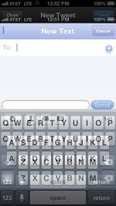 iPhone 5 Keyboard Letterbox Overlap