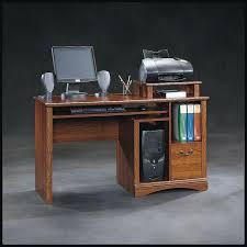 scribed oak effect home. Sauder Planked Cherry Computer Desk Scribed Oak Effect Home
