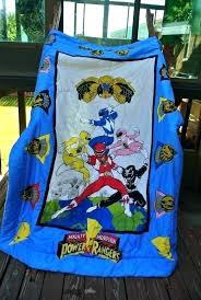 power rangers bedding set kids comforters quilt sets duvet covers room ranger bed bedroom ra