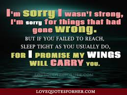 Im Sorry Quotes For Her Classy 48 Apologize Quotes For Lover FunPulp
