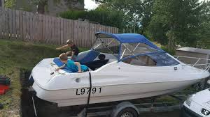 boat bayliner capri no engine