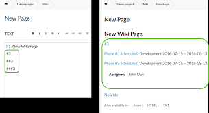 Wiki Work Openproject User Guide Link Wiki Page To Work Packages