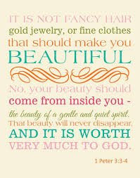 True Beauty Quotes From The Bible Best Of Bible Verse Christian Art Print 224 Peter 22422424 Beauty 224224x22424 CANVAS