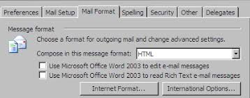 Create An Outlook Template Create An Email Template In Outlook 2003